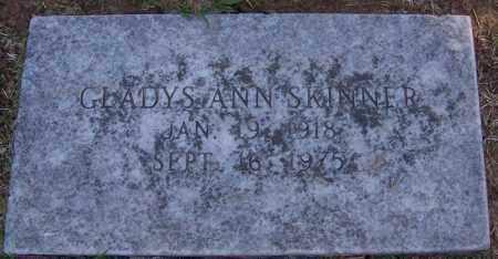 SKINNER, GLADYS ANN - Sebastian County, Arkansas | GLADYS ANN SKINNER - Arkansas Gravestone Photos
