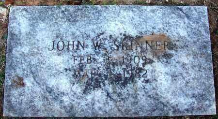 SKINNER, JOHN W - Sebastian County, Arkansas | JOHN W SKINNER - Arkansas Gravestone Photos