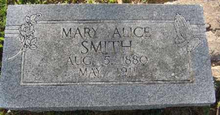 SMITH, MARY ALICE - Sebastian County, Arkansas | MARY ALICE SMITH - Arkansas Gravestone Photos