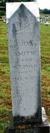 SMITH, MRS. JENNY - Sebastian County, Arkansas | MRS. JENNY SMITH - Arkansas Gravestone Photos