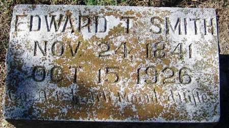 SMITH (VETERAN CSA), EDWARD T - Sebastian County, Arkansas | EDWARD T SMITH (VETERAN CSA) - Arkansas Gravestone Photos