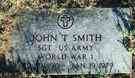 SMITH (VETERAN WWI), JOHN T - Sebastian County, Arkansas | JOHN T SMITH (VETERAN WWI) - Arkansas Gravestone Photos