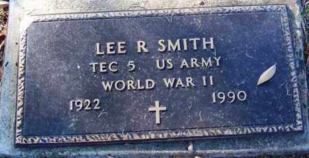 SMITH (VETERAN WWII), LEE R - Sebastian County, Arkansas | LEE R SMITH (VETERAN WWII) - Arkansas Gravestone Photos