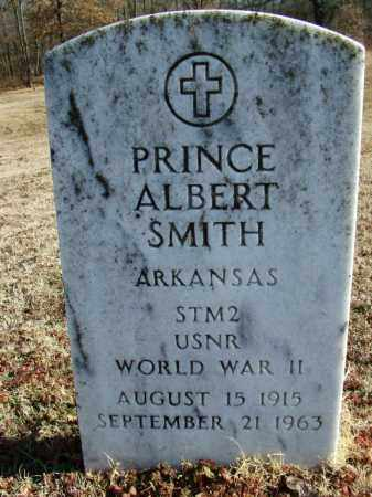 SMITH (VETERAN WWII), PRINCE ALBERT - Sebastian County, Arkansas | PRINCE ALBERT SMITH (VETERAN WWII) - Arkansas Gravestone Photos