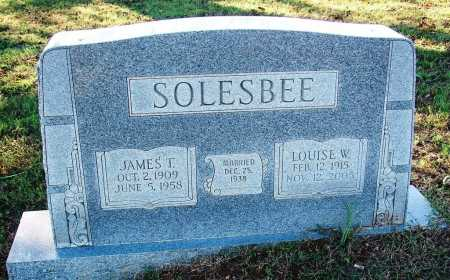 SOLESBEE, JAMES T. - Sebastian County, Arkansas | JAMES T. SOLESBEE - Arkansas Gravestone Photos