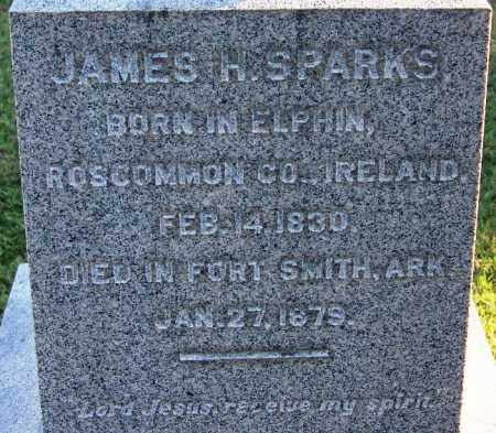 SPARKS, JAMES H (CLOSEUP) - Sebastian County, Arkansas | JAMES H (CLOSEUP) SPARKS - Arkansas Gravestone Photos