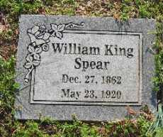 SPEAR, WILLIAM KING - Sebastian County, Arkansas | WILLIAM KING SPEAR - Arkansas Gravestone Photos