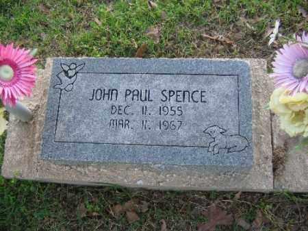 SPENCE, JOHN PAUL - Sebastian County, Arkansas   JOHN PAUL SPENCE - Arkansas Gravestone Photos