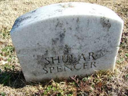 SPENCER (VETERAN), SHULAR - Sebastian County, Arkansas   SHULAR SPENCER (VETERAN) - Arkansas Gravestone Photos