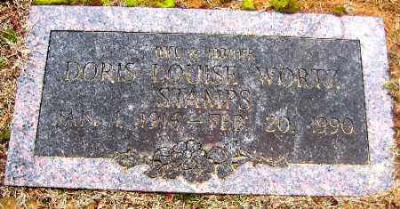 WORTZ STAMPS, DORIS LOUISE - Sebastian County, Arkansas | DORIS LOUISE WORTZ STAMPS - Arkansas Gravestone Photos