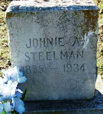 STEELMAN, JOHNIE A. - Sebastian County, Arkansas | JOHNIE A. STEELMAN - Arkansas Gravestone Photos