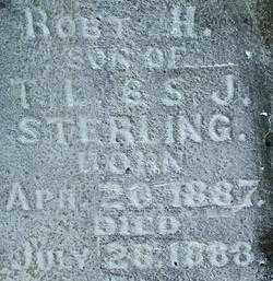 STERLING, ROBERT H. (2) - Sebastian County, Arkansas | ROBERT H. (2) STERLING - Arkansas Gravestone Photos