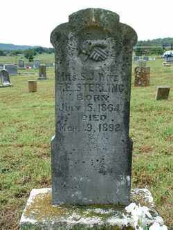 STERLING, S. J. - Sebastian County, Arkansas | S. J. STERLING - Arkansas Gravestone Photos