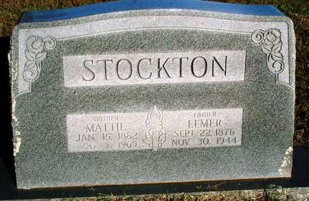 STOCKTON, ELMER - Sebastian County, Arkansas | ELMER STOCKTON - Arkansas Gravestone Photos