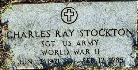 STOCKTON (VETERAN WWII), CHARLES RAY - Sebastian County, Arkansas | CHARLES RAY STOCKTON (VETERAN WWII) - Arkansas Gravestone Photos