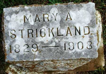 STRICKLAND, MARY A - Sebastian County, Arkansas | MARY A STRICKLAND - Arkansas Gravestone Photos