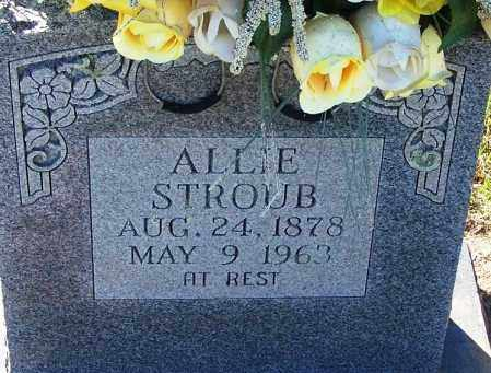 STROUB, ALLIE - Sebastian County, Arkansas | ALLIE STROUB - Arkansas Gravestone Photos