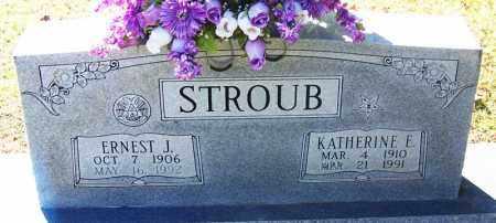 STROUB, KATHERINE E. - Sebastian County, Arkansas | KATHERINE E. STROUB - Arkansas Gravestone Photos