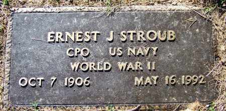 STROUB (VETERAN WWII), ERNEST J - Sebastian County, Arkansas | ERNEST J STROUB (VETERAN WWII) - Arkansas Gravestone Photos