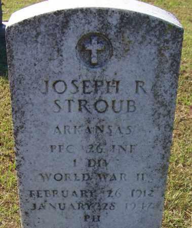 STROUB (VETERAN WWII), JOSEPH R - Sebastian County, Arkansas | JOSEPH R STROUB (VETERAN WWII) - Arkansas Gravestone Photos