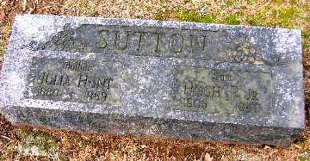 SUTTON, HUGH P. JR. - Sebastian County, Arkansas | HUGH P. JR. SUTTON - Arkansas Gravestone Photos