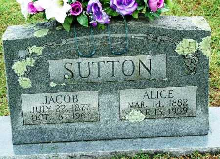 SUTTON, JACOB - Sebastian County, Arkansas | JACOB SUTTON - Arkansas Gravestone Photos
