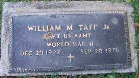 TAFF, JR. (VETERAN WWII), WILLIAM M - Sebastian County, Arkansas | WILLIAM M TAFF, JR. (VETERAN WWII) - Arkansas Gravestone Photos