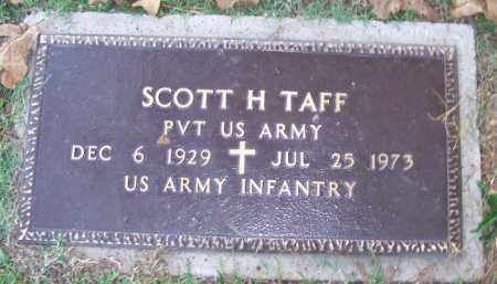 TAFF (VETERAN), SCOTT H - Sebastian County, Arkansas | SCOTT H TAFF (VETERAN) - Arkansas Gravestone Photos