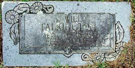 TALKINGTON, J. WILL - Sebastian County, Arkansas | J. WILL TALKINGTON - Arkansas Gravestone Photos