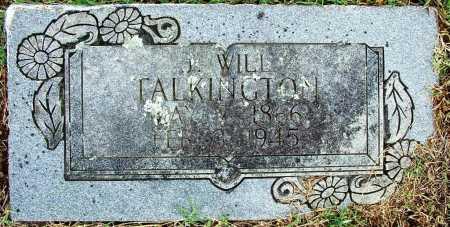 TALKINGTON, J. WILL - Sebastian County, Arkansas   J. WILL TALKINGTON - Arkansas Gravestone Photos