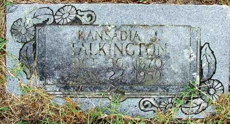 TALKINGTON, KASANDIA J. - Sebastian County, Arkansas | KASANDIA J. TALKINGTON - Arkansas Gravestone Photos