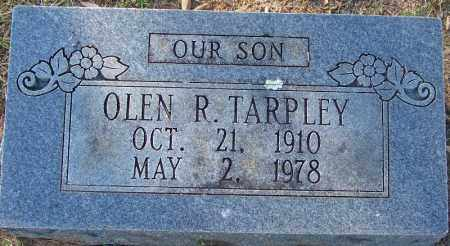 TARPLEY, OLEN R - Sebastian County, Arkansas | OLEN R TARPLEY - Arkansas Gravestone Photos