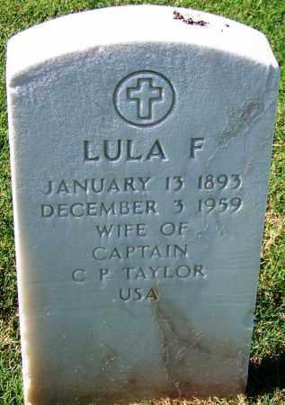 TAYLOR, LULA F - Sebastian County, Arkansas | LULA F TAYLOR - Arkansas Gravestone Photos
