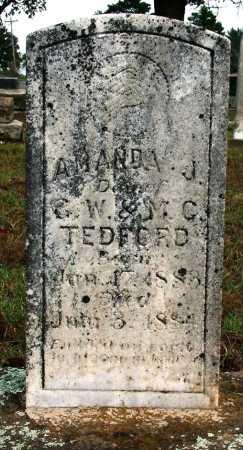 TEDFORD, AMANDA J. - Sebastian County, Arkansas | AMANDA J. TEDFORD - Arkansas Gravestone Photos