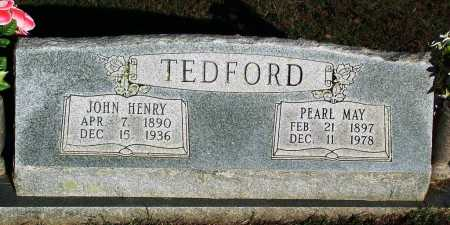 TEDFORD, PEARL MAY - Sebastian County, Arkansas | PEARL MAY TEDFORD - Arkansas Gravestone Photos