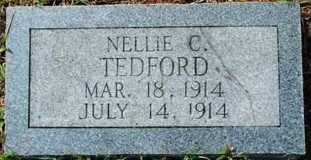 TEDFORD, NELLIE C. - Sebastian County, Arkansas | NELLIE C. TEDFORD - Arkansas Gravestone Photos