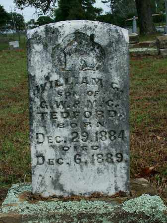 TEDFORD, WILLIAM G. - Sebastian County, Arkansas | WILLIAM G. TEDFORD - Arkansas Gravestone Photos
