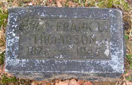 THOMPSON, FRANK L. - Sebastian County, Arkansas | FRANK L. THOMPSON - Arkansas Gravestone Photos