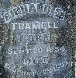 TRAMELL, RICHARD S. (2) - Sebastian County, Arkansas | RICHARD S. (2) TRAMELL - Arkansas Gravestone Photos