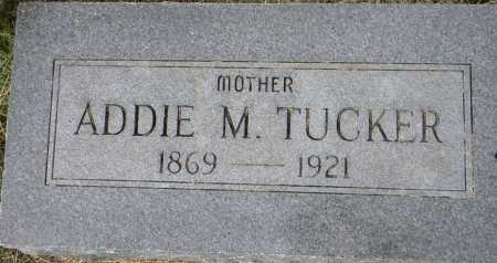 TUCKER, ADDIE M. - Sebastian County, Arkansas | ADDIE M. TUCKER - Arkansas Gravestone Photos