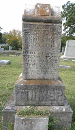 TUCKER, HENRY I. - Sebastian County, Arkansas | HENRY I. TUCKER - Arkansas Gravestone Photos
