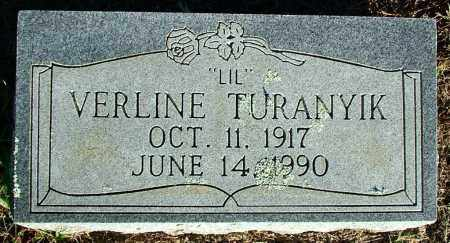 "TURANYIK, VERLINE ""LIL"" - Sebastian County, Arkansas 