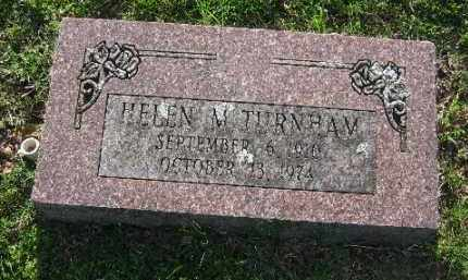 TURNHAM, HELEN M. - Sebastian County, Arkansas | HELEN M. TURNHAM - Arkansas Gravestone Photos