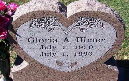 ULMER, GLORIA A - Sebastian County, Arkansas | GLORIA A ULMER - Arkansas Gravestone Photos