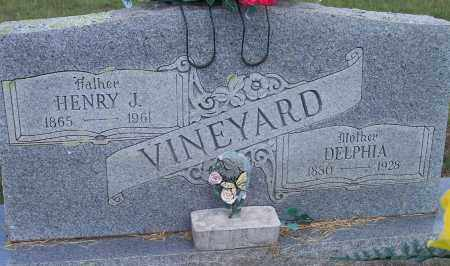 VINEYARD, DELPHIA - Sebastian County, Arkansas | DELPHIA VINEYARD - Arkansas Gravestone Photos