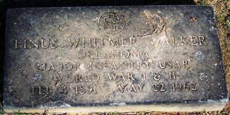 WALKER (VETERAN 2 WARS), LINUS WHITMER - Sebastian County, Arkansas   LINUS WHITMER WALKER (VETERAN 2 WARS) - Arkansas Gravestone Photos