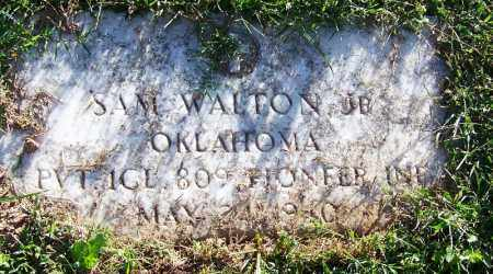 WALTON, JR. (VETERAN), SAM - Sebastian County, Arkansas | SAM WALTON, JR. (VETERAN) - Arkansas Gravestone Photos