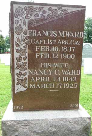 WARD (VETERAN UNION), FRANCIS M - Sebastian County, Arkansas | FRANCIS M WARD (VETERAN UNION) - Arkansas Gravestone Photos