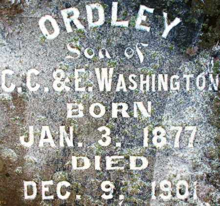 WASHINGTON, ORDLEY - Sebastian County, Arkansas | ORDLEY WASHINGTON - Arkansas Gravestone Photos