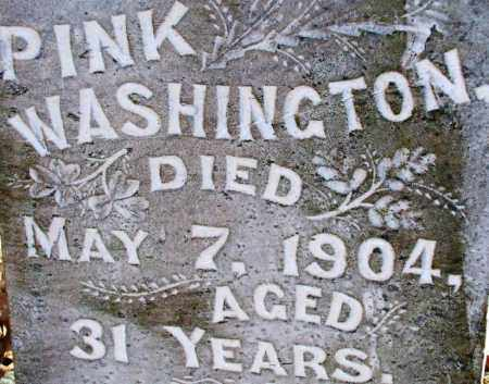 WASHINGTON, PINK - Sebastian County, Arkansas | PINK WASHINGTON - Arkansas Gravestone Photos